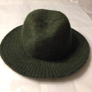 Vintage green wool blend Halper Brothers hat BOGO